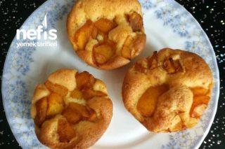 Yeni Dünya Meyveli Muffin (Sütsüz Yoğurtsuz) Tarifi