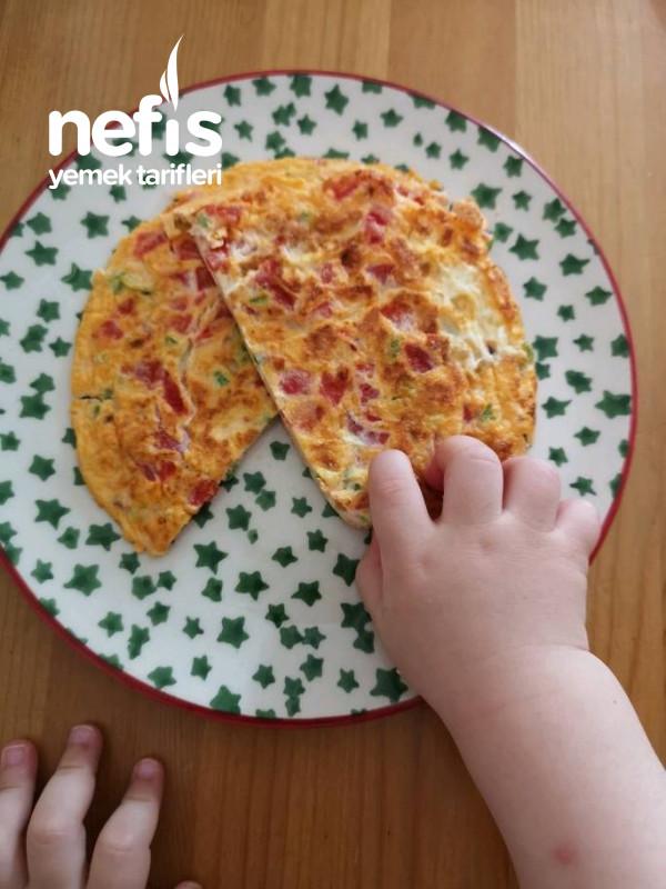 Bebekler İçin Karışık Omlet(1yaş ve Üzeri)