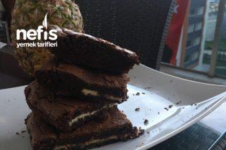 Beyaz Çikolata Dolgulu Browni Tarifi
