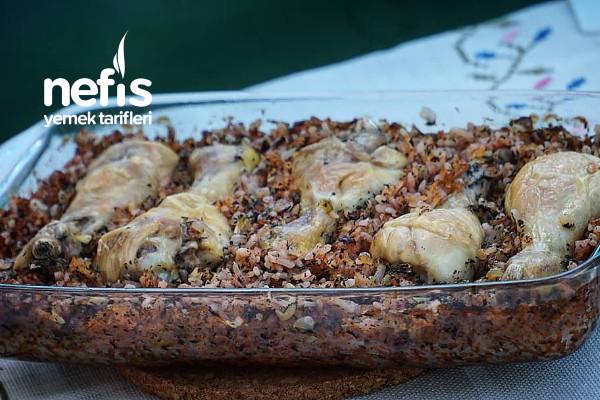 Beyaz Etin Kebabı: Tavuk Büryan Tarifi