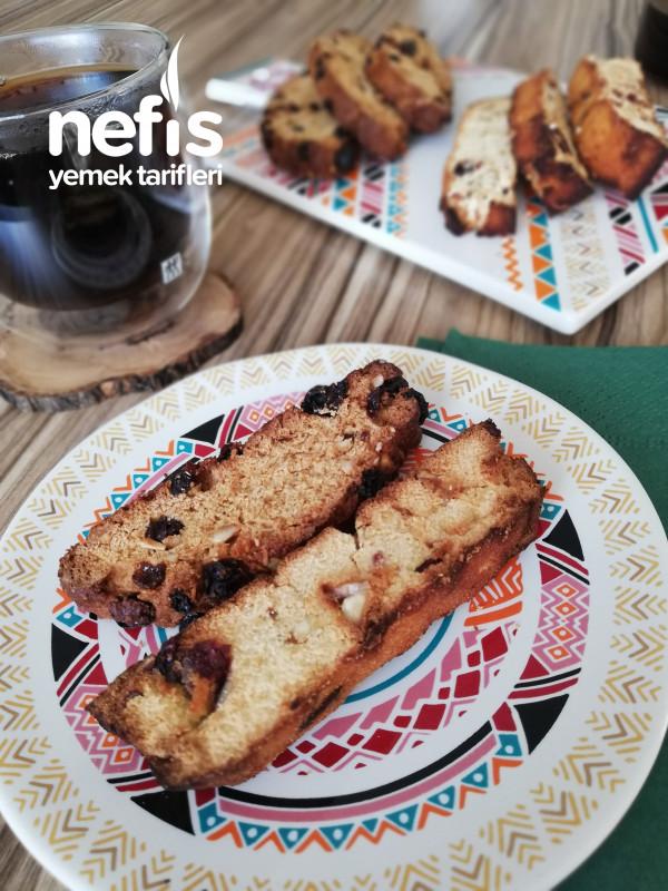 Biscotti (Rafine Şekersiz, Sağlıklı Bir Kahve Eşlikçisi)