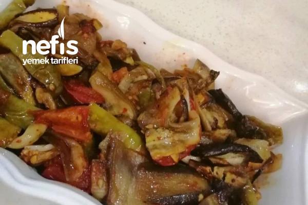 Fırında Patlıcan Türlü (Urfa Yemeği) Tarifi