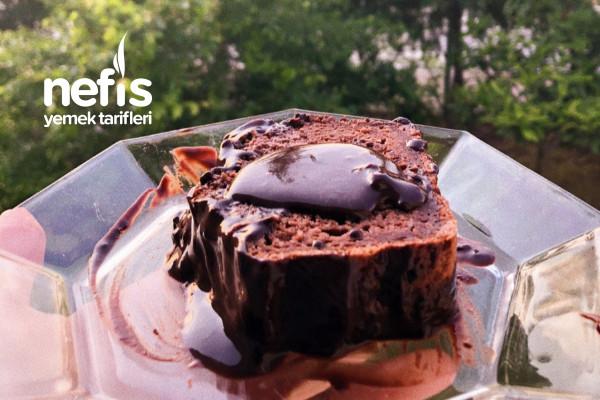 Glutensiz Muzlu Çikolatalı Kek Tarifi