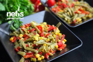 Lokum Kıvamında Taze Fasulye Salatası (Diyet Salata) Tarifi