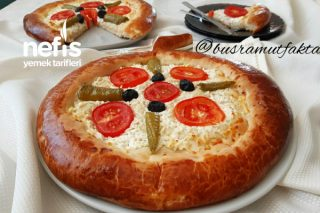 Pastane Usulü Pizza Poğaça Tarifi