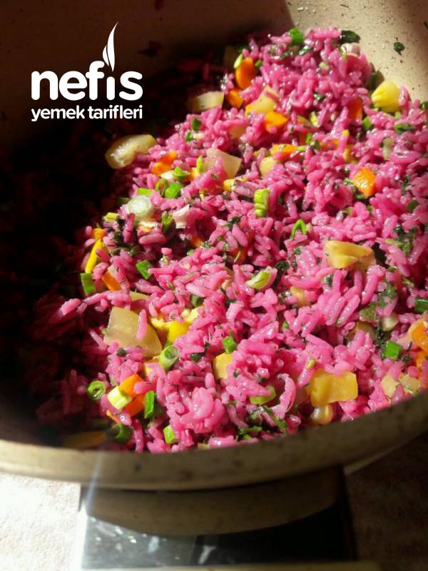 Şalgam Sulu Pirinç Salatası