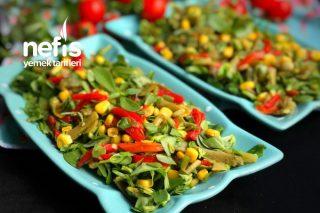 Semizotlu Taze Fasulye Salatası (Lezzet Şöleni) Tarifi