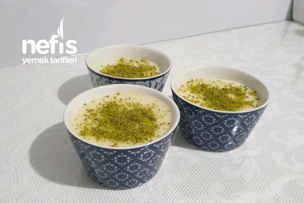 Sütlü Muhallebi Tarifi