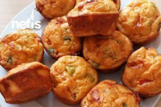 Tuzlu Muffin (Kahvaltıya, Beş Çaylarına) Tarifi
