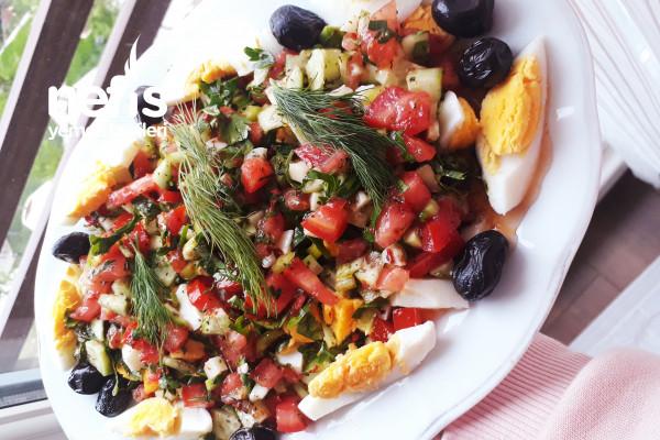 Yumurta Salatası (Günün Her Öğününde) Tarifi