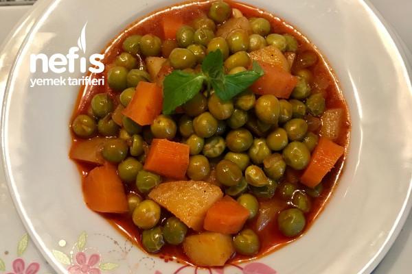 Bezelye Yemeği (Patatesli ,havuçlu) Tarifi