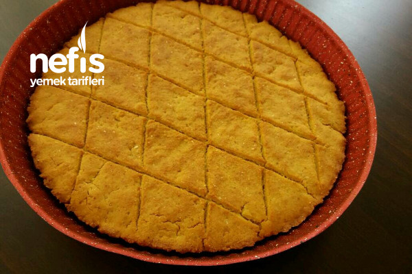 Mısır Ekmeği (5 Dakikada Fırında)