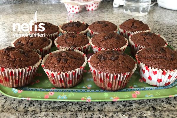 Muffin Kağıtlarında Kakaolu Kek Tarifi