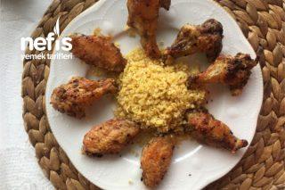 Fırında Baharatlı Çıtır Tavuk Kanatları Tarifi