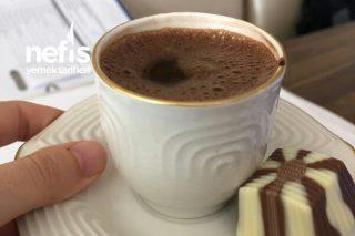 Kakaolu Türk Kahvesi (Makinede) Tarifi