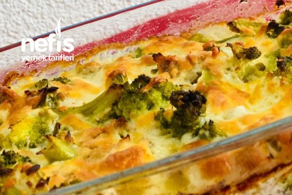 Ketojenik Ton Balıklı Brokoli