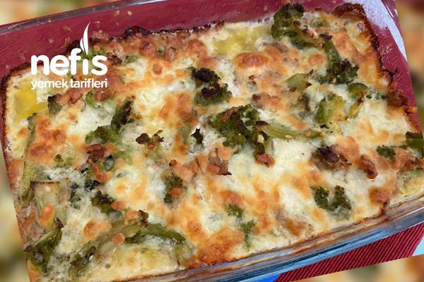 Ketojenik Ton Balıklı Brokoli Tarifi