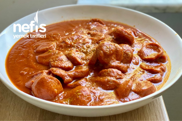 Klasik Alman Mutfağından Currywurst~Körili Sosis