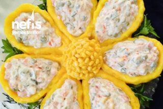 Papatya Salatası Masanızda Görsel Şölen Tarifi