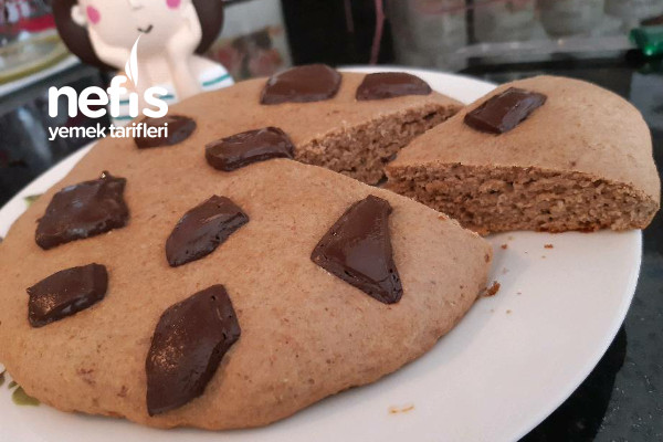 Rafine Şekersiz Tam Buğday Unlu Big Cookies Tarifi