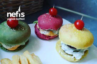Renkli Hamburger Ekmeklerim Tarifi