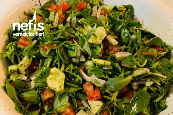 Semizotu (Pirpirim) Salatası Tarifi