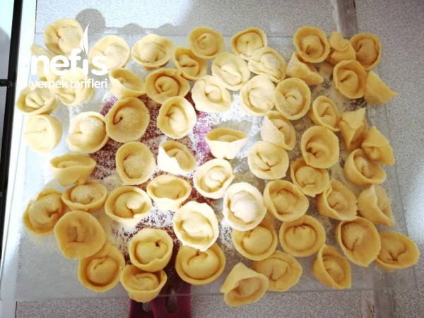 Tortellini (Orijinal İtalyan Makarnası Ev Yapımı)