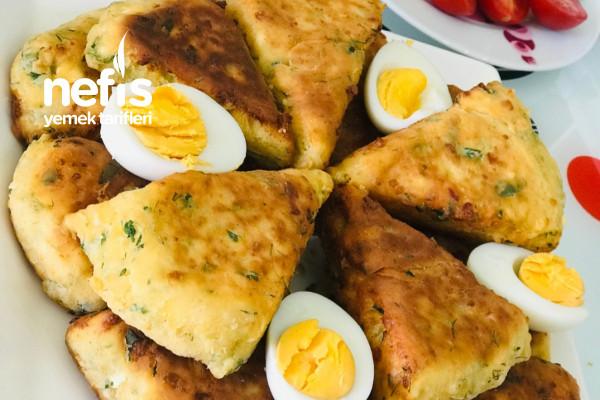 Az Malzemeli 5 Dakika Da Kahvaltılık Tarifi