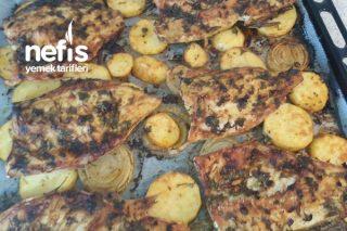 Patatesli Levrek Fileto (Fırında) Tarifi