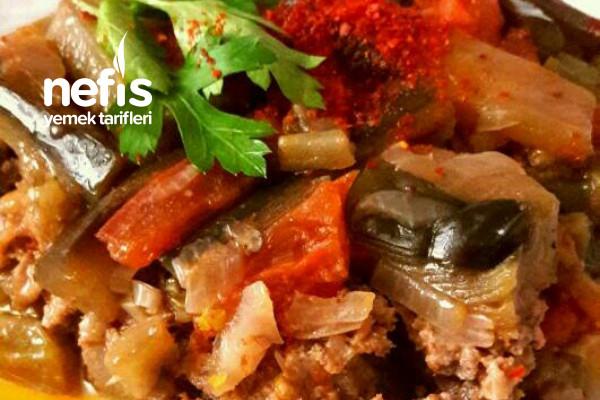 Tavada Kıymalı Enfes Patlıcan Yemeği Tarifi