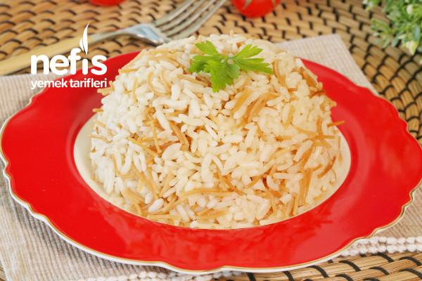 Tavuk Suyu ile Pirinç Pilavı (videolu) Tarifi