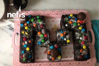 Baş Harfli Doğum Günü Pastası Tarifi