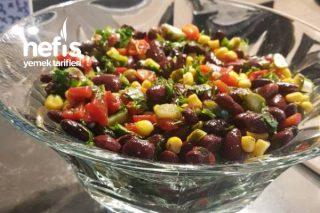 Bayılacaksınız Meksika Fasulyesi Salatası Tarifi