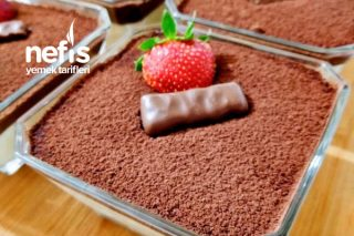 Çikolata Soslu Muhallebi (Lezzet Bombası Kat Kat Lezzet) Tarifi