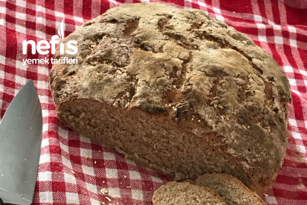 Dışı Çıtır İçi Yumuşacık Tam Buğday Ekmeği Tarifi
