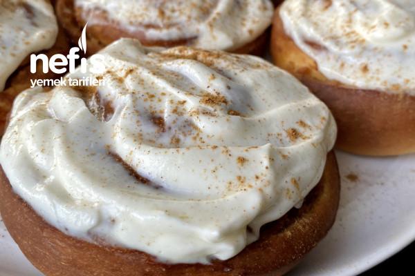 Elmalı Tarçınlı Çörek (Apple Cinnamon Rolls) Tarifi