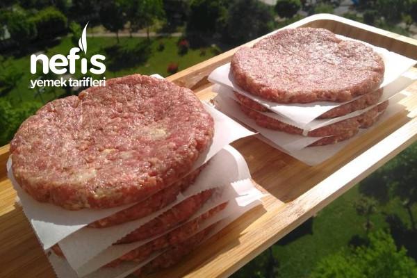 Hamburger Köftesi Nasıl Yapılır (Derin Dondurucu İçin)
