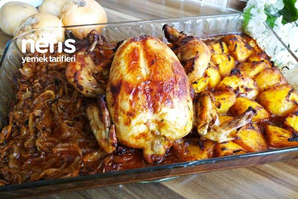Lezzeti Garanti Özel Sosuyla Fırında Tavuk (Videolu) Tarifi