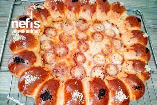 Pizza Poğaça Teremyağlı İki Lezzet Bir Arada Tarifi