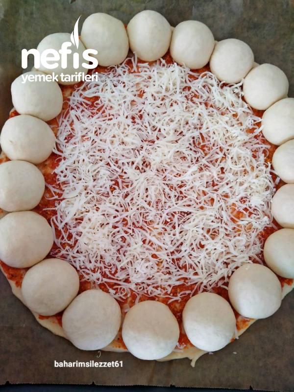 Pizza Poğaça Teremyaglı iki Lezzet Bir Arada