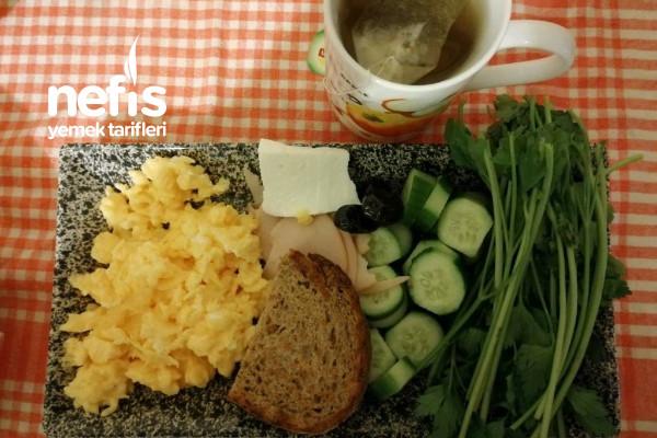 Protein Değeri Yüksek Fit Kahvaltı Tarifi