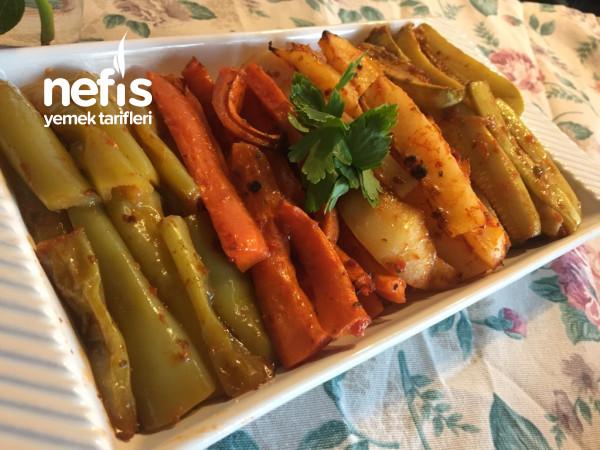 Sebze Kebabı (Videolu) Sebzelerin En Güzel Hali