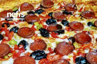 Simit Tadında Puf Puf Pizza Tarifi