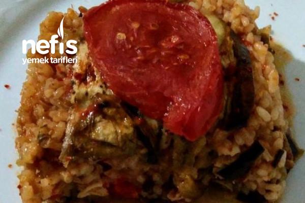 Tavuklu Patlıcan Döşeme Tarifi