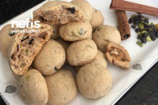 Bol Malzemeli Kurabiye (Cevizli Tarçınlı Çikolatalı) Tarifi