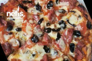 Köy Ekmeğinden Pizza Tarifi