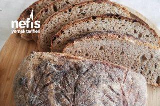 Tam Buğday ve Çavdar Unlu Ekşi Mayalı Ekmek Tarifi