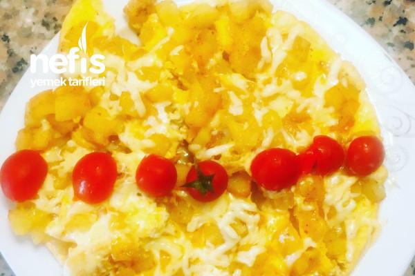 Kahvaltıya Yumurtalı Patates Tarifi