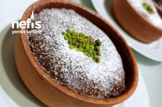 Beyaz Çikolatalı Tahinli Sufle Tarifi