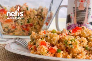 Enginarlı Bulgur Salatası (Kısıra Alternatif Lezzet) Tarifi